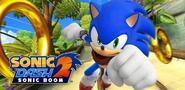 SD2 Sonic in Jungle Hardlight artwork