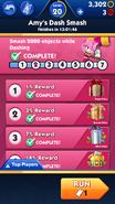 Evento da Amy - Progresso