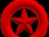 Anel de Estrela Vermelho