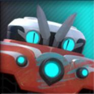 Robô-Fogo rank