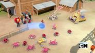 Team Sonic vs robots