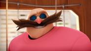 Eggman in his evil pajamas