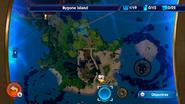 Bygone Island map