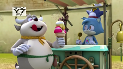Ice Cream Vendor and Mike