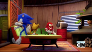 Sonic vs. Knuckles Staying Up Contest