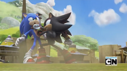 Sonic vs Shadow Boom Style