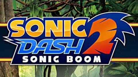 Sonic Dash 2 Sonic Boom (OST) - Jungle Stage Theme