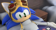 Sonic in Tails costume