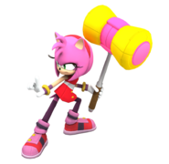 Amy Sonic boom 4