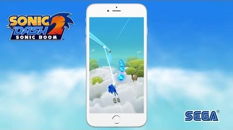 Sonic Dash 2 Sonic Boom Launch App Store
