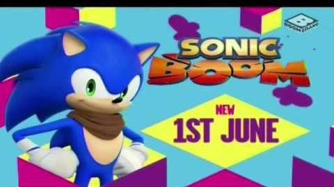 Sonic Boom (TV) - Boomerang UK Commercial