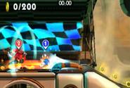 Eggman-bot vs. Sonic
