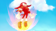 Knuckles with powers (Part 1)
