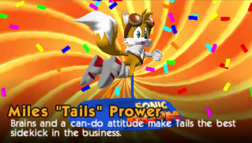 Tails toy