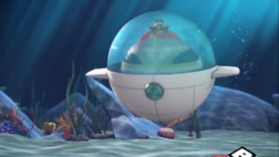 Eggmobile from underwater