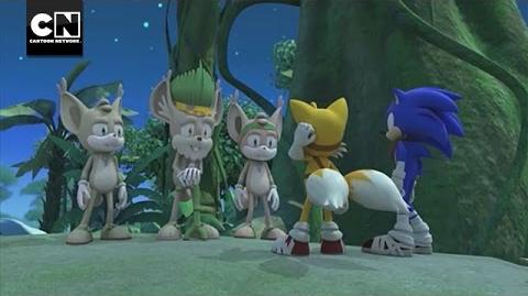 Gogoba Village I Sonic Boom I Cartoon Network