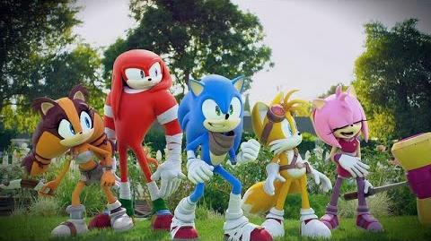 Sonic Boom Shattered Crystal TV Commercial