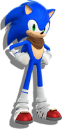 Sonic Boom Sonic Pose 1