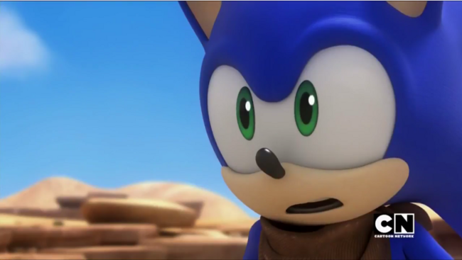Sonic scared
