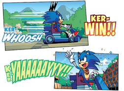 Sonic Wins (as usual)