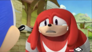 Knuckles cry