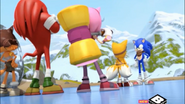 Team Sonic and... Sonic