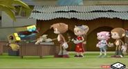 Cubot in his Eggman cosplay