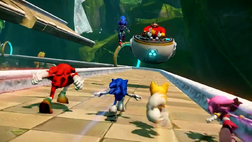 Eggman and Metal vs Team Sonic