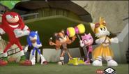 Team Sonic attack!