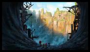 Sonic Boom concept level art