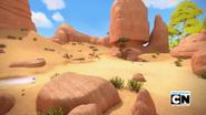 Bygone Island Desert
