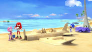 Sand plane