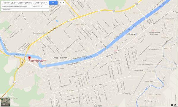 Entidades - ABBA - mapa