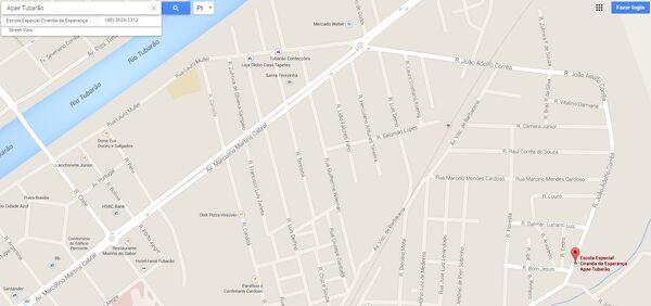 Entidades - APAE - mapa errado