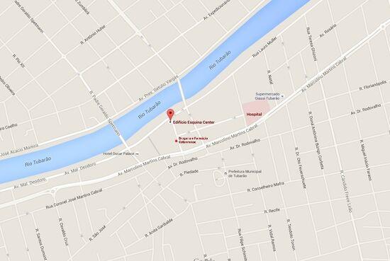 Ed Esquina Center, mapa editado 6