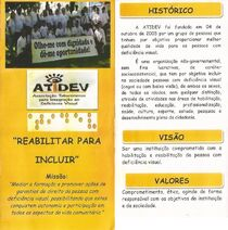 Entidades - ATIDEV - folder 1 e 2 - frente e verso