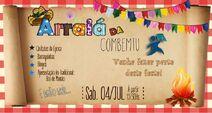 Campanha Ent. Combemtu - Festa Junina 2015