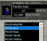Posión Azul