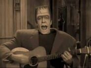 Herman on the guitar