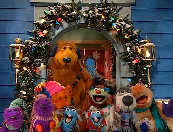 woodland valley carols - Bear Inthe Big Blue House Christmas