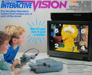 View-Master Interactive Vision box front