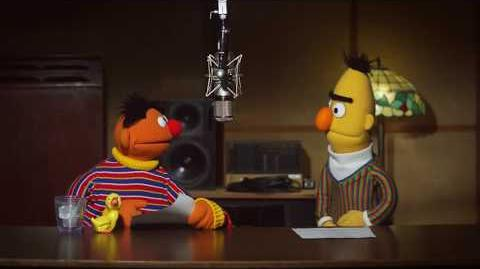 Bert and Ernie recording for TomTom GPS