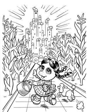 Muppets Rizzo Coloring Pages. great muppets in american history ...