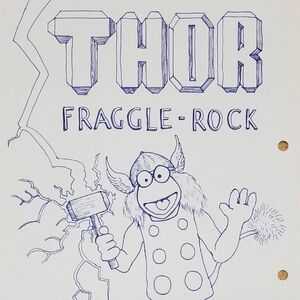 TaikaWaititi 9 Sep 2017 Thor Fraggle Rock