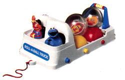 1989 roll-a-ball truck