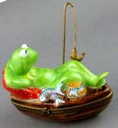 Bernardaud limoges kermit boat 4