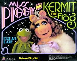 Colorforms 1981 kermit piggy dream date play set 1
