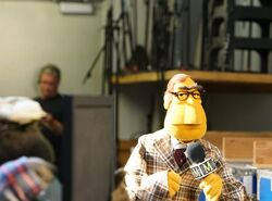 Newsman rehearse bowl