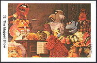 Sweden swap gum cards 75 the muppet show 2