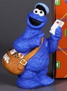 Enesco cookie monster mailman figurine